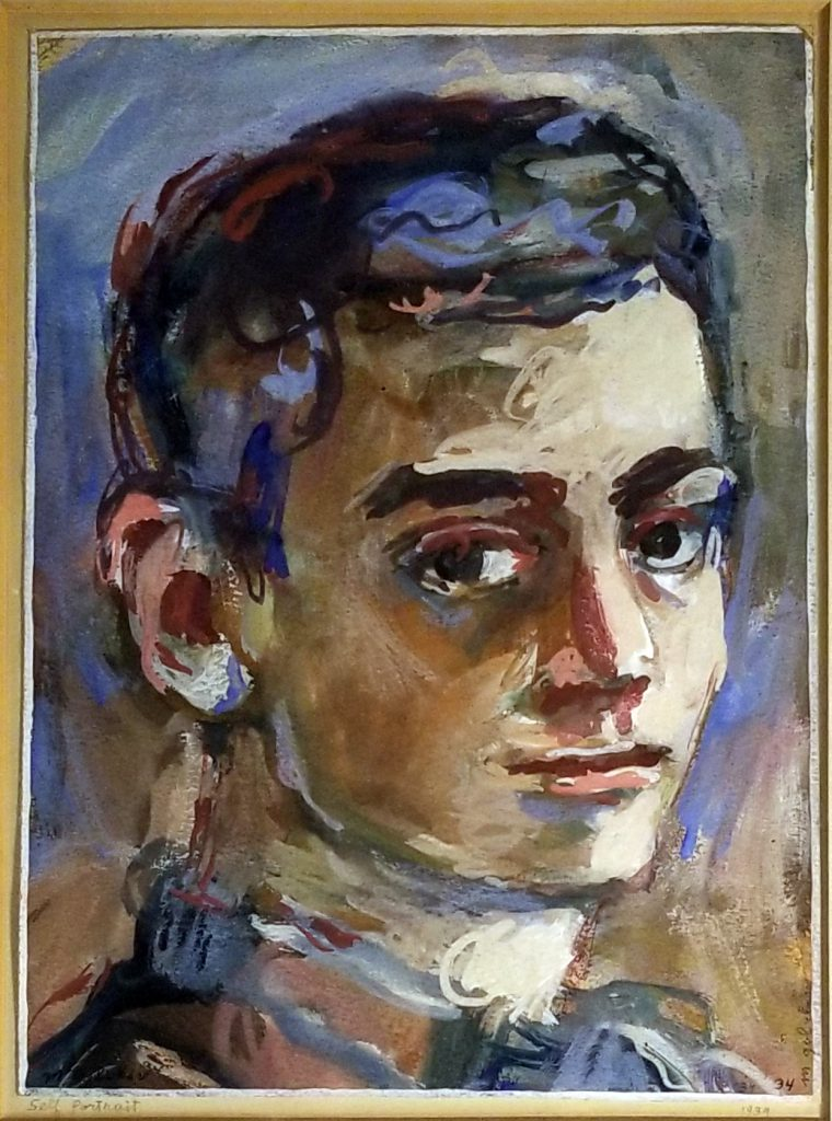 Maurice Golubov - Self Portrait 1934