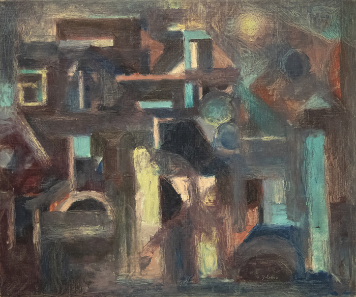 Maurice Golubov - Promenade 1952
